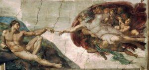 God Creating Adam_Michelangelo