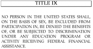 Trump's stand for science: Title IX rights restored to women Title-IX-graphic-O-300x218